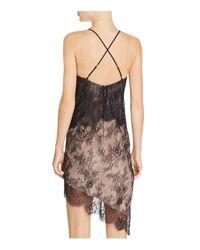 StyleStalker Black Allende Tiered Lace Dress