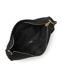 MICHAEL Michael Kors Black Lauryn Large Leather Shoulder Bag