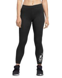 Adidas Originals Black Badge Of Sport Leggings