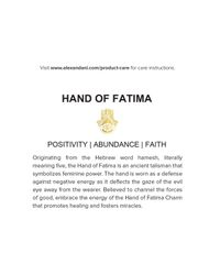"ALEX AND ANI - Metallic Precious Metals Symbolic Hand Of Fatima Pull Chain Necklace, 10-24"" - Lyst"