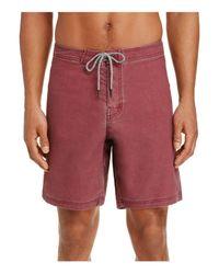 Katin - Red Parker Pocket Trunks for Men - Lyst