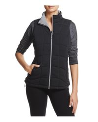 Marc New York Black Andrew Marc Performance Quilted Knit Vest