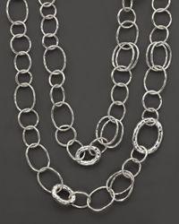 "Ippolita - Metallic Sterling Silver ""bastille"" Necklace - Lyst"