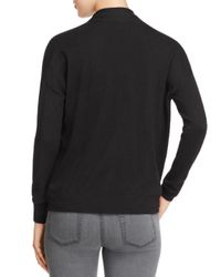 Joie - Black Lien Crossover-front Sweater - Lyst