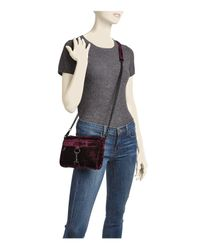 Rebecca Minkoff - Multicolor Mini Mac Velvet Crossbody - Lyst