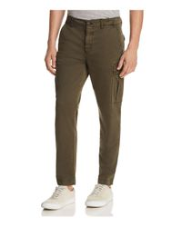 BOSS - Green Orange Sebas Utility Cargo Pants for Men - Lyst
