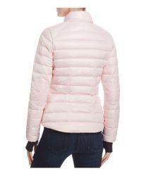 Sam. Pink Sundown Quilted Down Jacket
