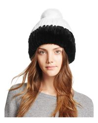 Maximilian Black Rabbit Fur Hat