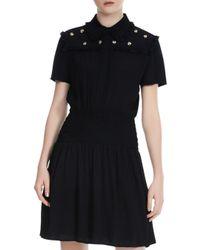 Maje Black Short Dress