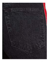 Rag & Bone Tuxedo Straight Jeans In Washed Black