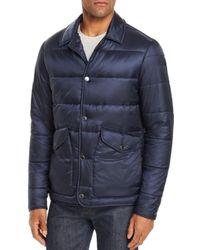 Michael Kors Blue Quilted Jacket for men