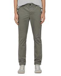 AllSaints Gray Felix Chino Pants for men