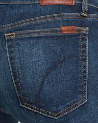 Joe's Jeans Blue The Charlie Skinny Jeans In Tania