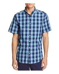 Vineyard Vines Blue Pear Tree Cove Tucker Slim Fit Button-down Shirt for men