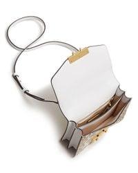 Tory Burch - Multicolor Juliette Printed Mini Leather Satchel - Lyst