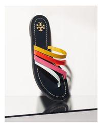 Tory Burch Pink Patos Thong Sandals
