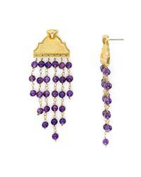 Stephanie Kantis - Multicolor Pediment Drop Earrings - Lyst