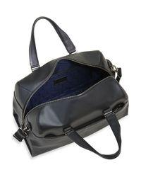 Tumi | Black Harrison Leather Rockwell Day Duffel Bag for Men | Lyst