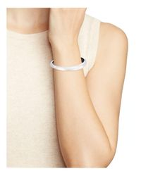 Alexis Bittar - Metallic Lucite Tapered Bangle - Lyst