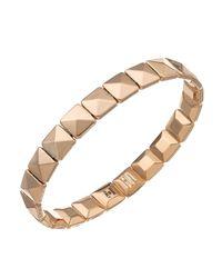 Chimento - Pink 18k Rose Gold Armillas Collection Square Link Bracelet - Lyst
