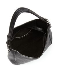 Rebecca Minkoff - Black Unlined Whipstitch Convertible Hobo - Lyst