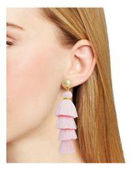 BaubleBar - Pink Luisa Tassel Drop Earrings - Lyst