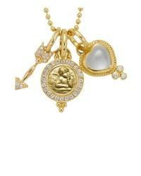 Temple St. Clair Metallic 18k Yellow Gold Amor Gift Set