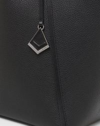 Botkier Black Trinity Leather Tote