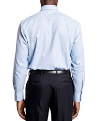 Thomas Pink - Blue Hobson Textured Dress Shirt - Bloomingdale's Regular Fit for Men - Lyst