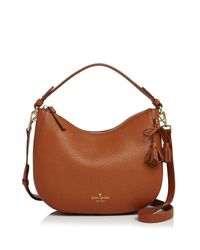Kate Spade Multicolor Hayes Street Aiden Small Leather Hobo