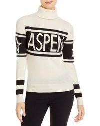 Perfect Moment White Schild Aspen Turtleneck Sweater