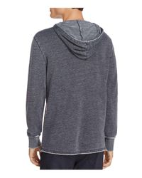 Alternative Apparel - Gray School Yard Pigment-dyed Hooded Sweatshirt for Men - Lyst