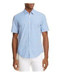 BOSS Green | Blue C-bustaino Check Regular Fit Button-down Shirt for Men | Lyst