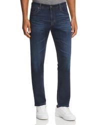 AG Jeans Blue Tellis Slim Fit Jeans In Stranger for men