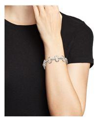 Ippolita - Metallic Sterling Silver Glamazon® Small Oval Link Bracelet - Lyst