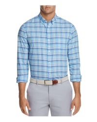 Vineyard Vines - Blue Pine Island Slim Fit Button-down Shirt for Men - Lyst