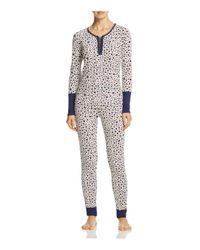Splendid - Multicolor Intimates Printed Thermal Pajama Set - Lyst