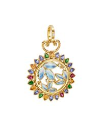 Temple St. Clair - Metallic Diamond & Multi Gemstone Pendant - Lyst