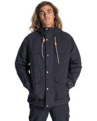 Sabotage Anti-Series Jacket negro Rip Curl de hombre de color Black