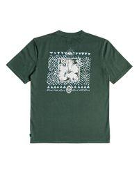 Quiksilver Og Ceremonial T-Shirt in Green für Herren