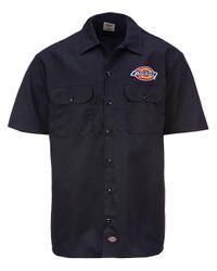 Clintondale Work Shirt negro Dickies de hombre de color Black