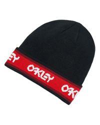 B1B Beanie negro Oakley de color Red