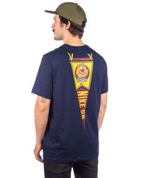 Nike Gopher T-Shirt in Blue für Herren