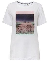 O'neill Sportswear White T-Shirt Aella