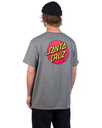Santa Cruz OG Classic Dot T-Shirt in Gray für Herren