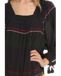 Apiece Apart - Black Sayulita Square Neck Dress - Lyst
