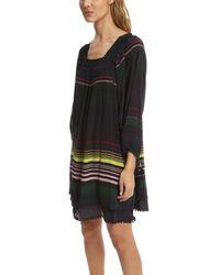 Apiece Apart Black Sayulita Square Neck Dress