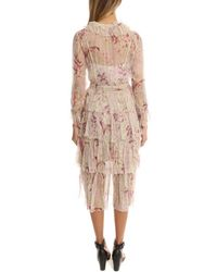 Zimmermann - Pink Winsome Tier Dress - Lyst