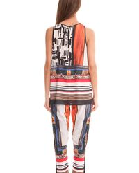 Clover Canyon - Multicolor Imperial Markings Top - Lyst