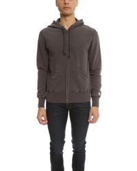 Todd Snyder - Brown Full Zip Hoody for Men - Lyst
